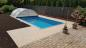 Preview: Fieberglas Pool-Set Smart 4,6m x 3,0m x 1,2m